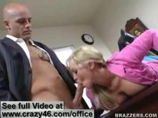 Blow Job - Busty Secretary fucks in here Office