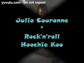 Female Masturbation - Julie Couronne : rock'n'roll hoochie koo!