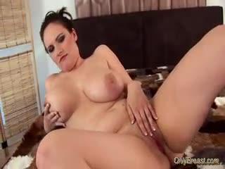 Big Tits - Big breasts babe does blowjob