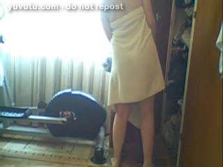 Webcam - s'habiller et se préparer