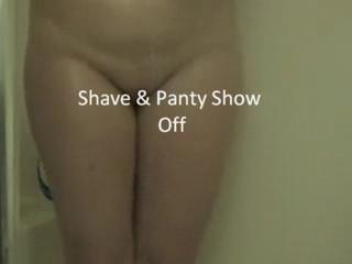 Shaving - Pussy Shave & Panty Play