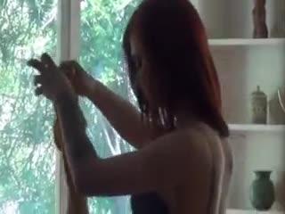 Cum Shot - Redhead girlfriend drilled hard and creamy cumsh...