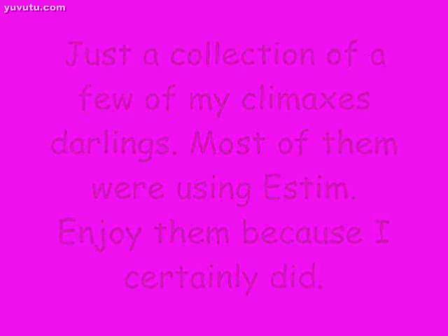 - Jannine's estim cumpilation