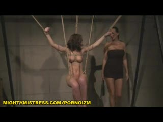 BDSM - Lesbian BDSM Punishment of Euro Slave