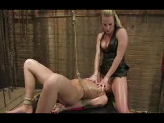 BDSM - Bondage toys and two hot lesbos