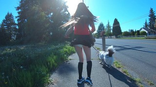 Fetish - Diapers and Short Skirts in Public Part#3 (And N...