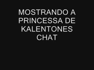 Examination/Posing - MOSTRANDO PARA PRINCESSA DE KALENTONES CHAT
