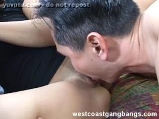 Interracial - Karrlie Dawn Fucking by Guys Cumshots
