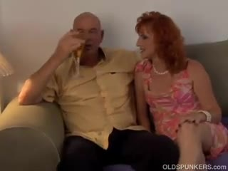 Mature - Sexy mature red head loves to fuck