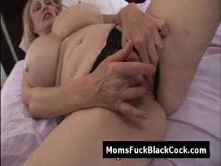 Interracial - Nasty huge tit white granny Patty Plenty nailed ...
