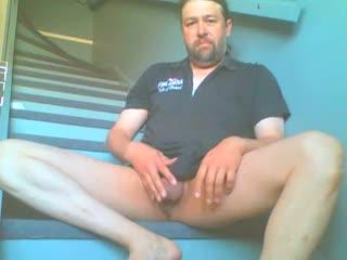 Male Masturbation - Pelle Westlund - hard and horny on cam