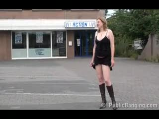 Exhibe - Public - public sex threesome with a pregnant wo...