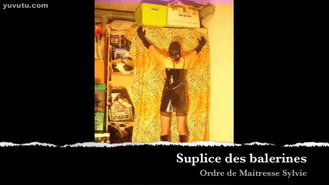 BDSM - suplice ballet shoes