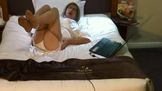 Lingerie in Hotel Bedroom