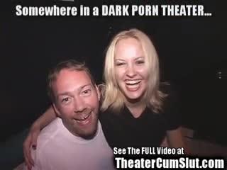 Exhibe - Shawna Takes Strange Porn Theater Perverts Cumsh...