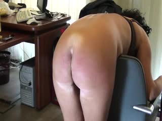 BDSM - belting cheating wife´s ass