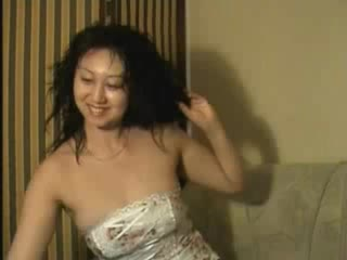 - Hot Asian Babe Stripping