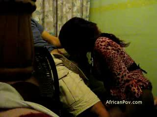 - African big butt Jennifer likes big dick from be...