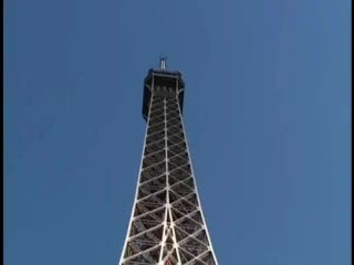 Exhibe - Eiffel Tower risky public threesome sex. AWESOME...