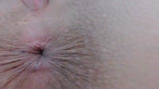 Examination/Posing - Extreme Asshole Closeup