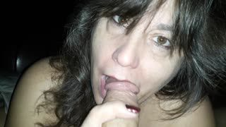 Blow Job - 2-16-2020 wakeup bj 1 i was ***** she sneaks in ...