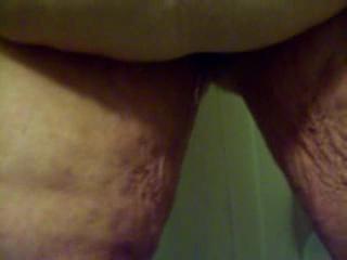 - peeing in tub
