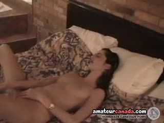 Latina - ***** uses huge sex toy in tiny pussy