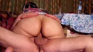 Pipe - Big butt wife riding cock