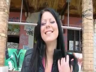 Exhibe - Nasty raven haired amateur babe Klaudia Hot flas...