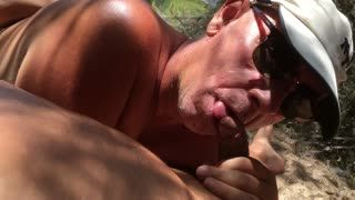 - Sucking my cock