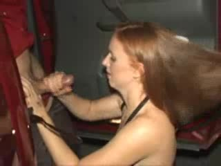 - Liz gives a handjob to a complete stranger in a ...