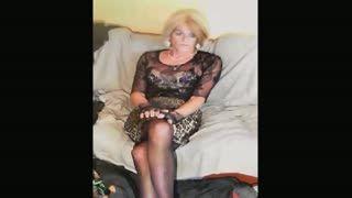 Transexuel(le) - Ewa short blond