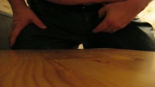 Cum Shot - Hard in leather