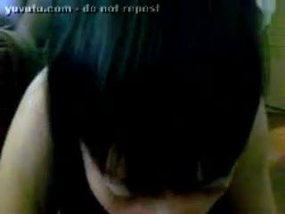 Blow Job - chilean girlfriend blowjob at her parents house