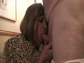 Mature - Rachel sucking cock