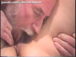 Cunilingus - DAVE SUCKING ON HER PUSSY LIPS AND HER LOVELY BU...