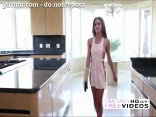 Femme dessus - Super sexy slim Natasha White seduces her hubby ...