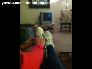 F�tichisme - sexy mature feet