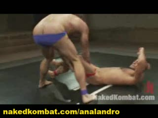 Latin Combat In Oil Sexual Wrestling