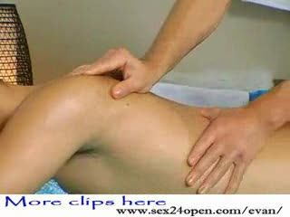 - Strong tender fingers are caressing