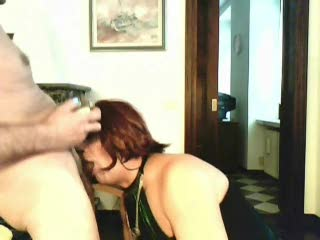 Blow Job - Irma getting a lot of sperm in her mouth