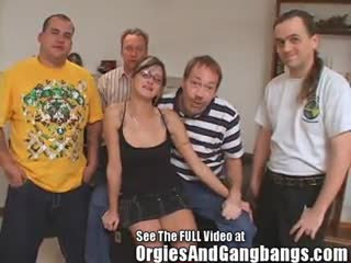 Blow Job - Cum On My Glasses Gang Bang Party At Dirty Ds