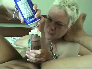 - Nasty Cream Handjob