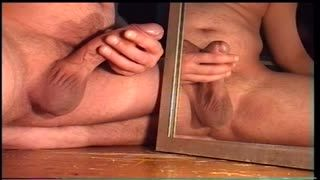 Bisexuel - cum on mirror
