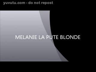 Flashing/Public - MELANIE LA PUTE BLONDE