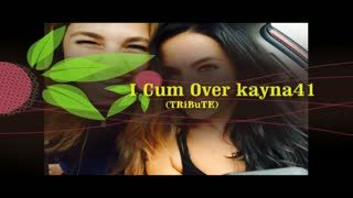 Male Masturbation - I Cum Over kayna41 (TRiBuTE) (HD)