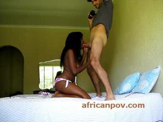 - Kenyan busty black amateur girl face n pussy fuc...