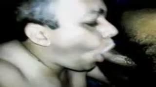 Pipe - Gay Chupando una polla negra