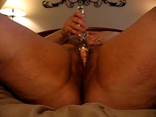 Dildo - BBW  solo  for  hubby
