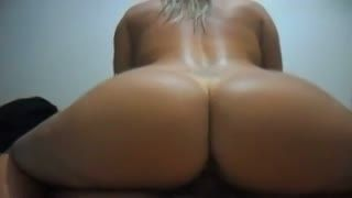 Cream Pie - Big Round Ass on Top of my Cock